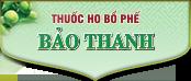 Thuốc ho bổ phế Bảo Thanh