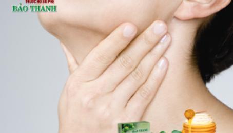 Dưỡng họng trừ ho hiệu quả bằng viên ngậm Bảo Thanh