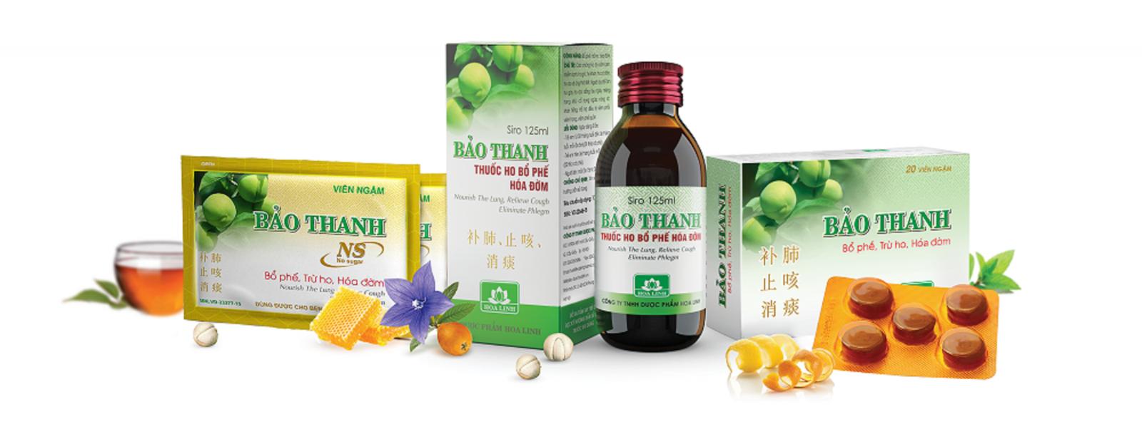 Thuốc ho bổ phế Bảo Thanh có nguồn gốc từ bài thuốc cổ phương hơn 300 năm