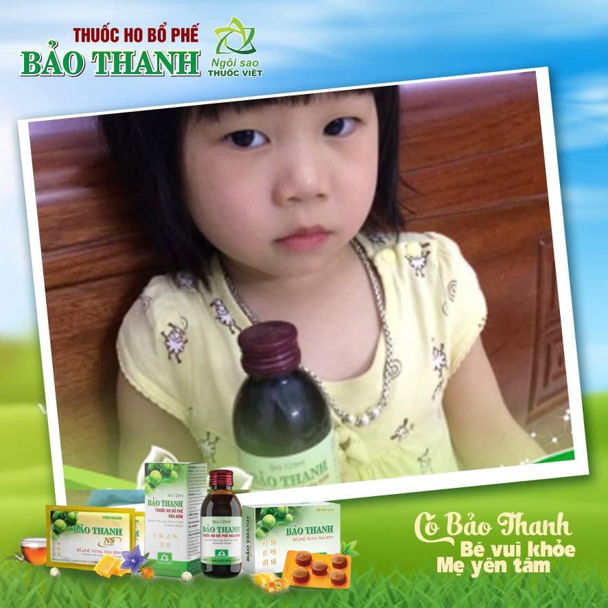 Thuốc ho Bảo Thanh - Tuyệt chiêu đơn giản tăng sức đề kháng cho bé