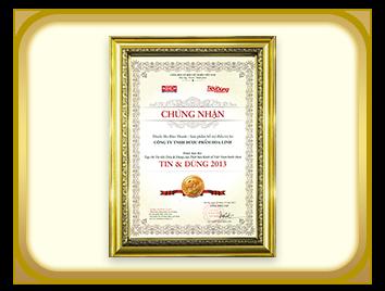 Bảo Thanh – Siro hỗ trợ điều trị ho được Tin Dùng số 1 năm 2013