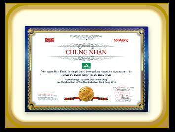 Viên ngậm Bảo Thanh – Sản phẩm số 1 trong dòng viên ngậm trị ho – 2014
