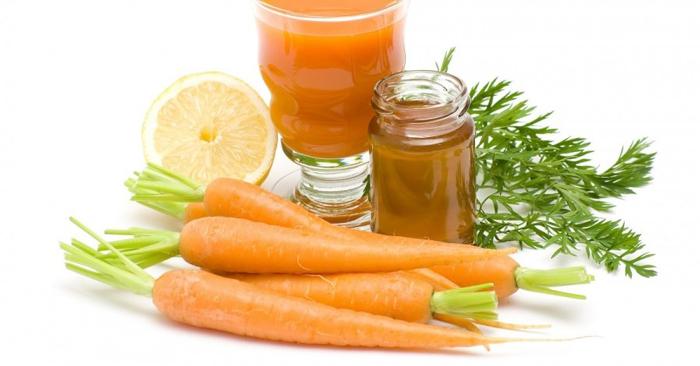 Kết hợp cà rốt với mật ong có thể trị chứng ho khan, ho có đờm