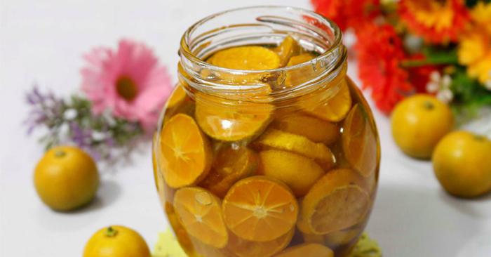 cách trị ho bằng mật ong và quất khá phổ biến