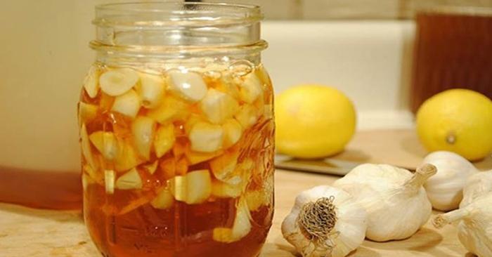 Mật ong và tỏi có khả năng chữa trị các cơn ho có đờm hiệu quả