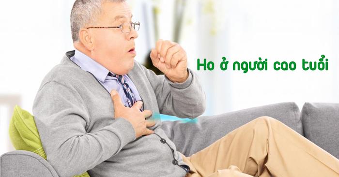 Ho ở người cao tuổi gây lo lắng nhiều hơn so với ho ở người trẻ