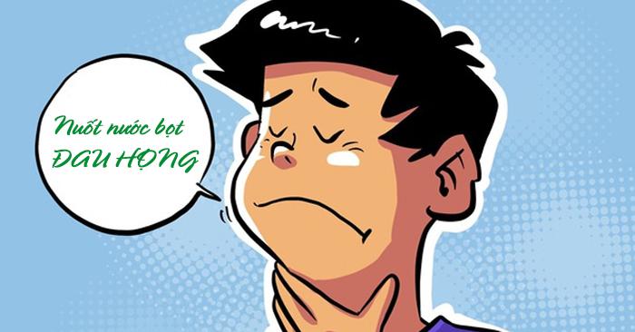 Nuốt nước bọt đau họng là triệu chứng thường gặp khi bệnh nhân gặp phải những vấn đề ở vùng họng