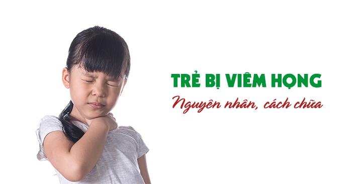 Trẻ viêm họng đôi khi có thể là dấu hiệu của nhiều bệnh lý