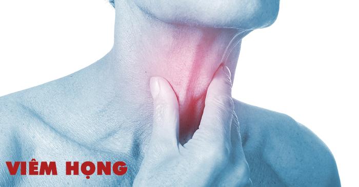 Viêm họng là bệnh lý thường xuyên gặp vào trời lạnh hay thời tiết giao mùa