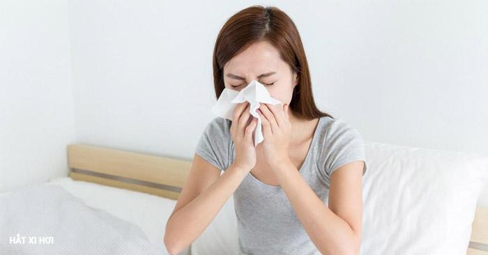 Ho, hắt xì hơi có là một trong những nguyên nhân lây bệnh