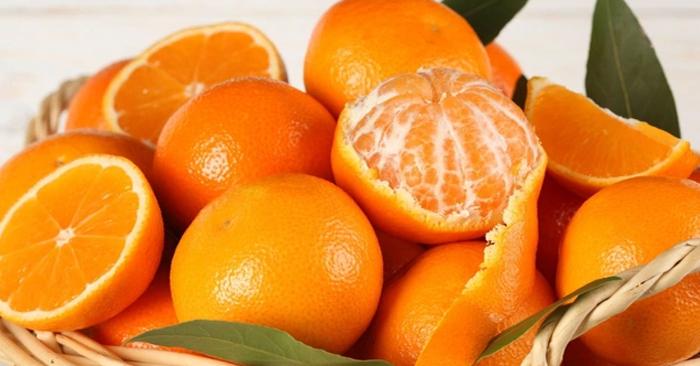 Cam, quýt… giàu vitamin C