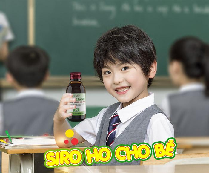 10 Siro Ho Cho Bé Và Trẻ Sơ Sinh Hiệu Quả