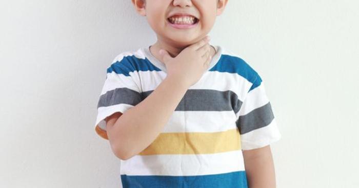 Sức đề kháng ở trẻ nhỏ và trẻ sơ sinh còn yếu nên dễ mắc phải viêm Amidan