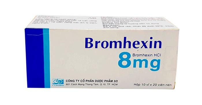Thuốc Bromhexin