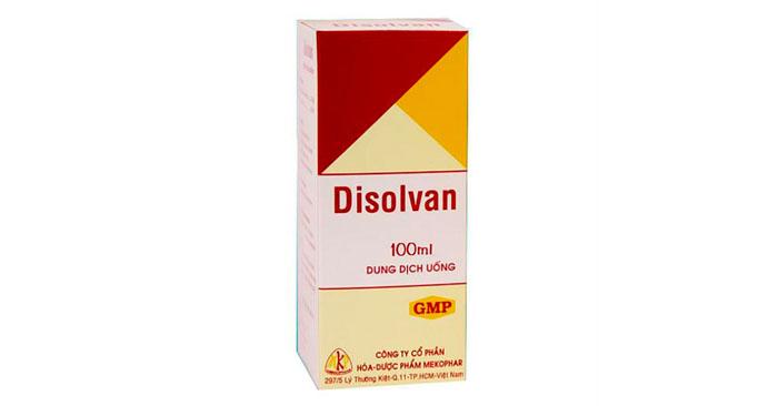 Thuốc tan đờm Disolvan