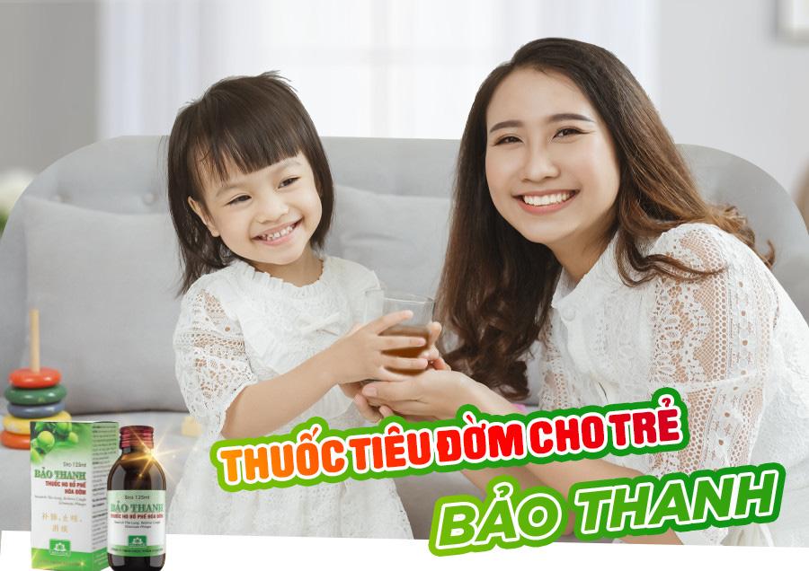 thuốc tiêu đờm cho trẻ Bảo Thanh